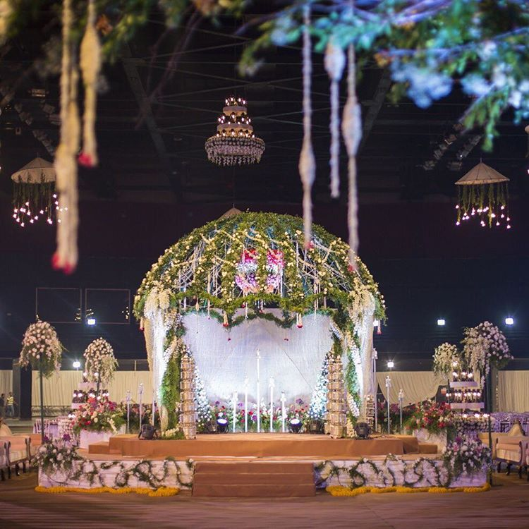 Poolside Mandap Designs