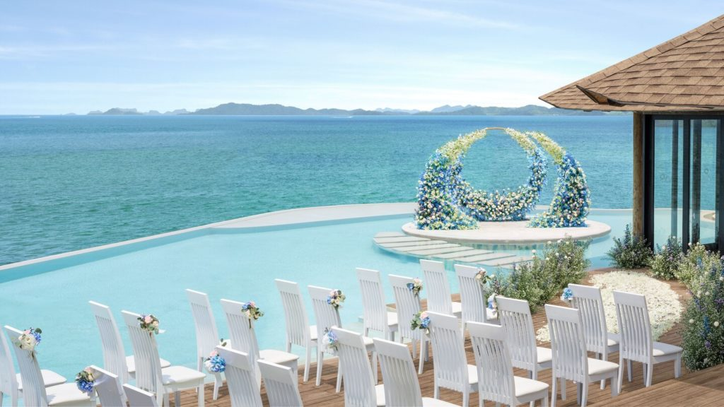 The Naka Island, A luxury collection Beach Resort wedding