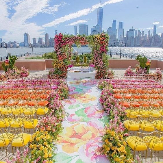 chair decor ideas destination wedding