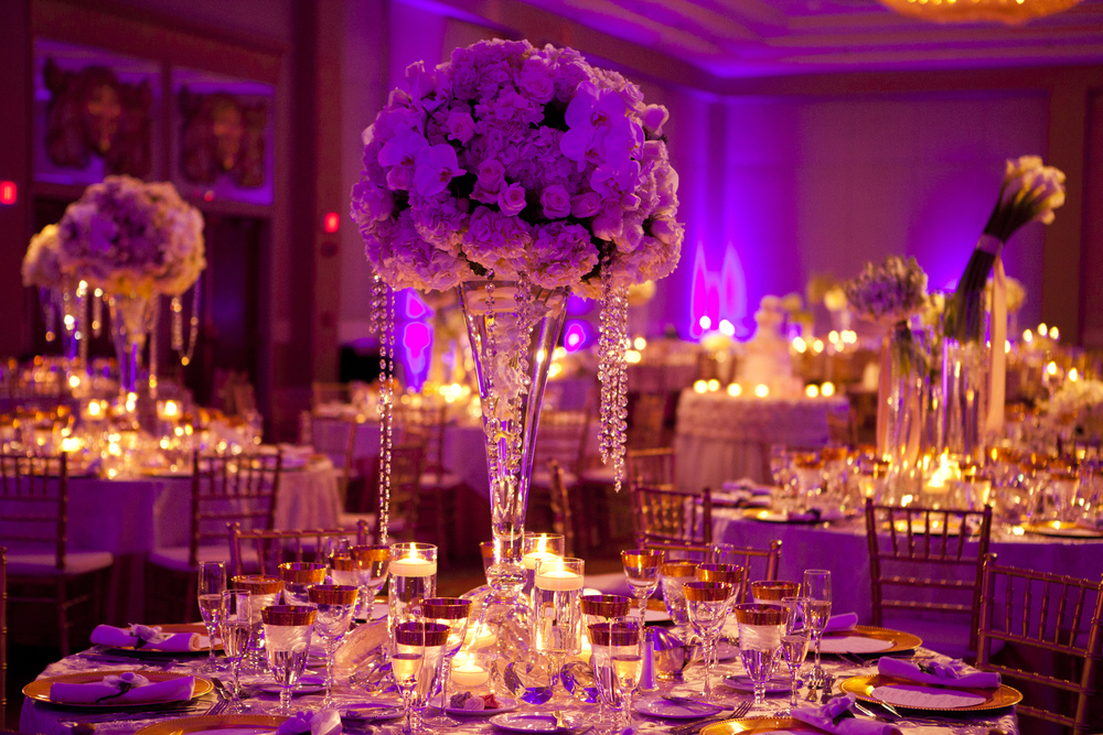 PURPLE COLOR SCHEME WEDDING 2019