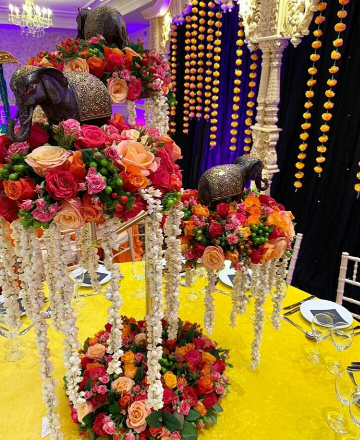 Flower Decoration for Wedding