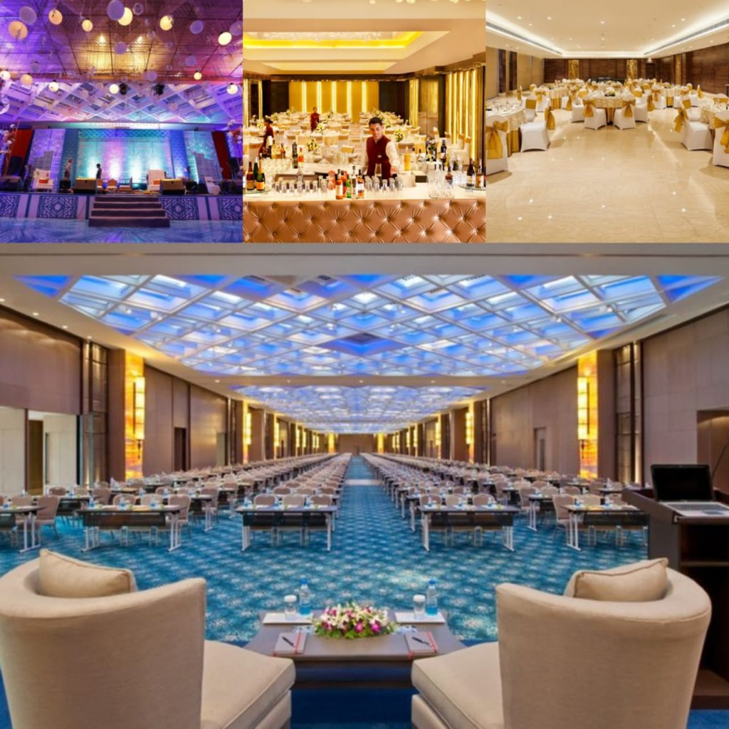 leela ambience convention hotel