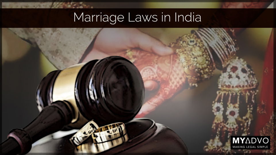 Marriage laws in India