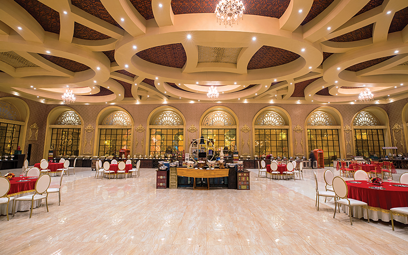 tivoli grand resort banquet