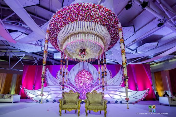 Indoor Mandap Design