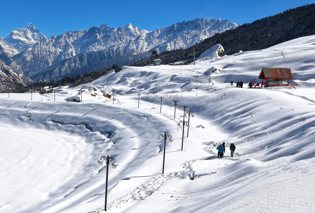 Auli The beautiful location for Wedding