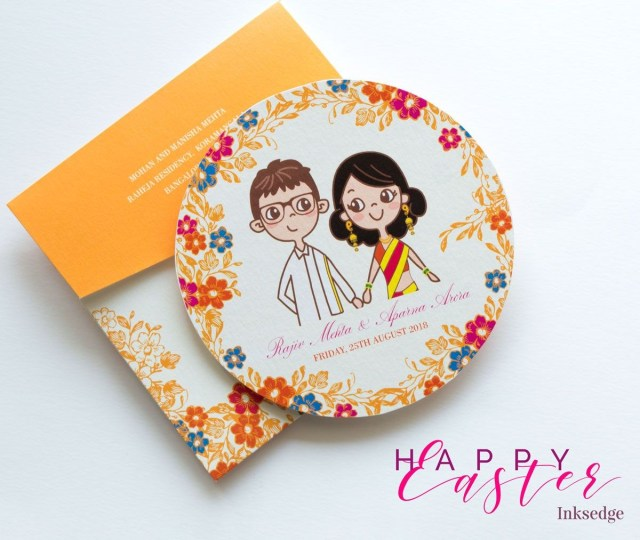 Awesome-CD Wedding Invitation Card