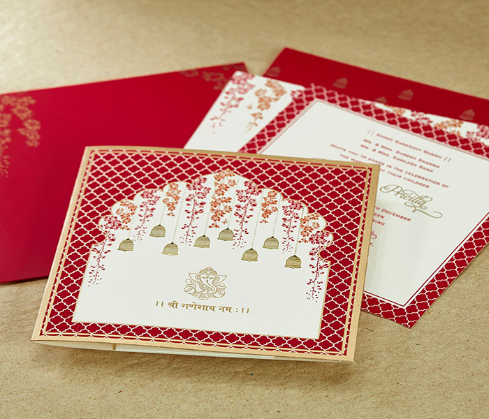 Hindu Wedding Card Invitation Design