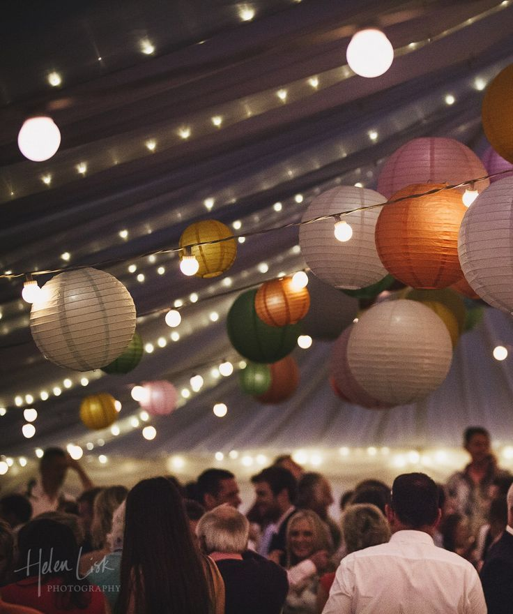 Multicolored Paper Lanterns