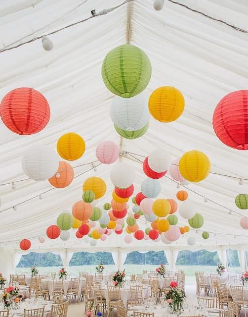 Top Paper Lanterns Decor Ideas