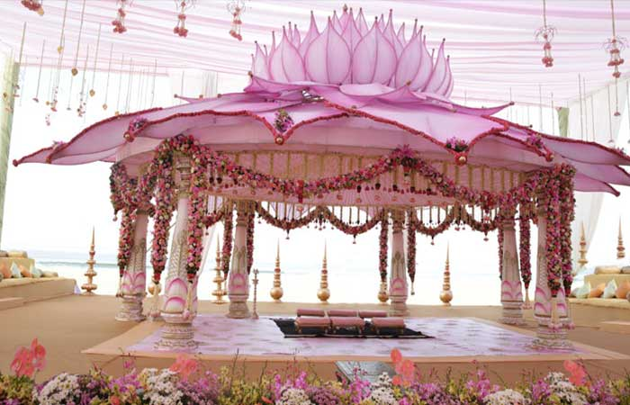 Outdoor Mandap Design