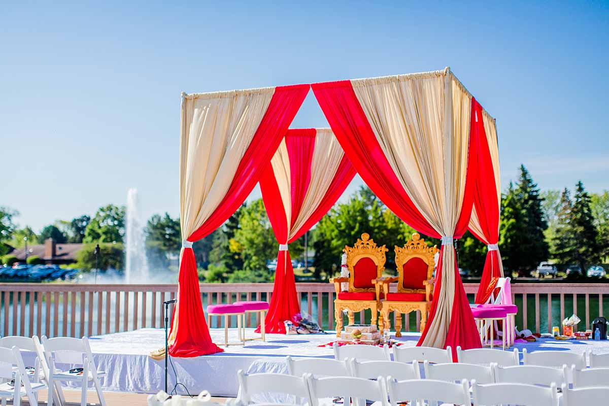 Mandap Wedding Decor