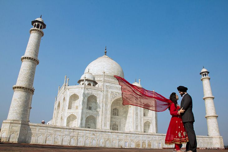 Best Wedding Shoot at Taj Mahal