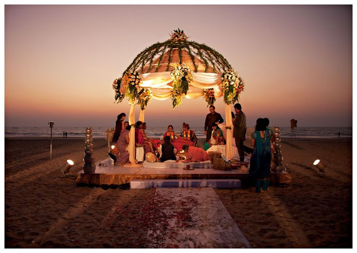 Destination Wedding in Alibaug, India