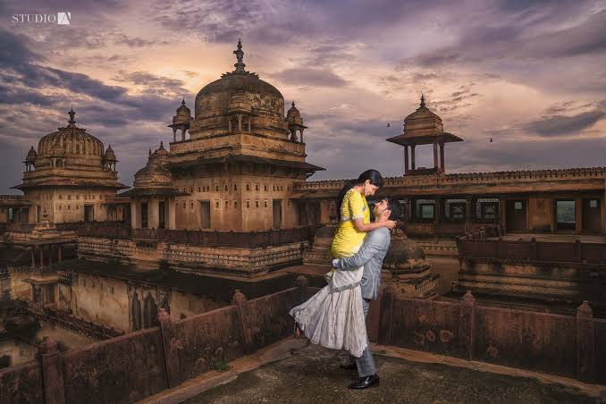 Wedding Destination in Orchha
