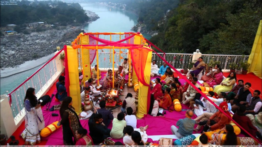 Weddings Destination in Rishikesh, India