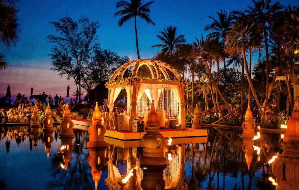 The best places for destination wedding.