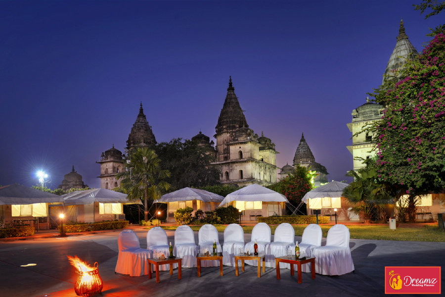 destination wedding orchha