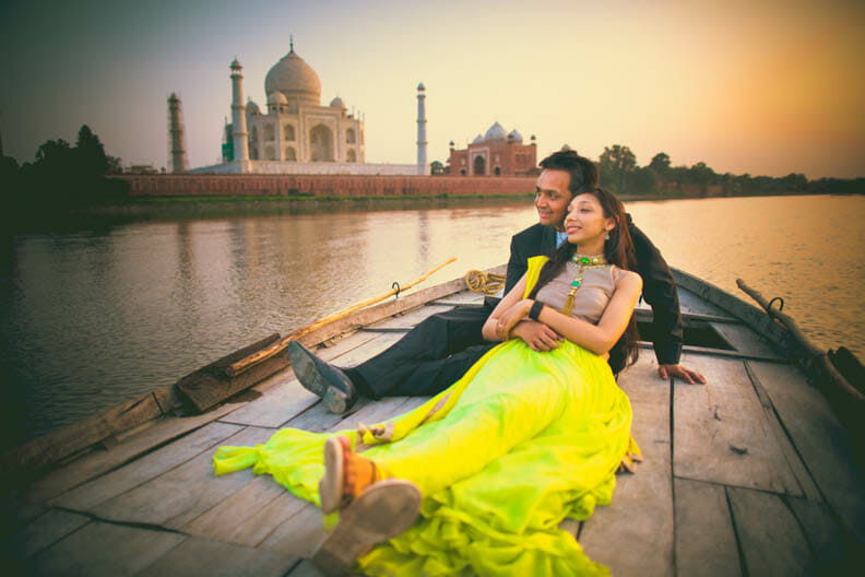 pre wedding shoot location in agra