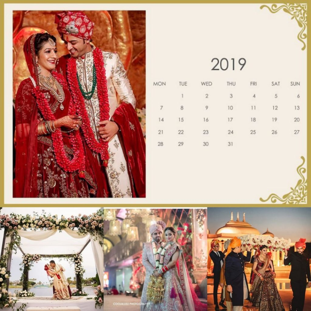 Wedding Dates in Year 2019 With Marriage Muhurat Wedding Planner