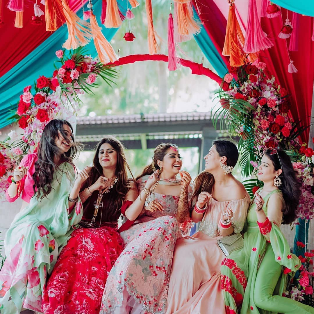 These Fairy-tale Spring Wedding Themes Will You Grazing Your Wedding Photos