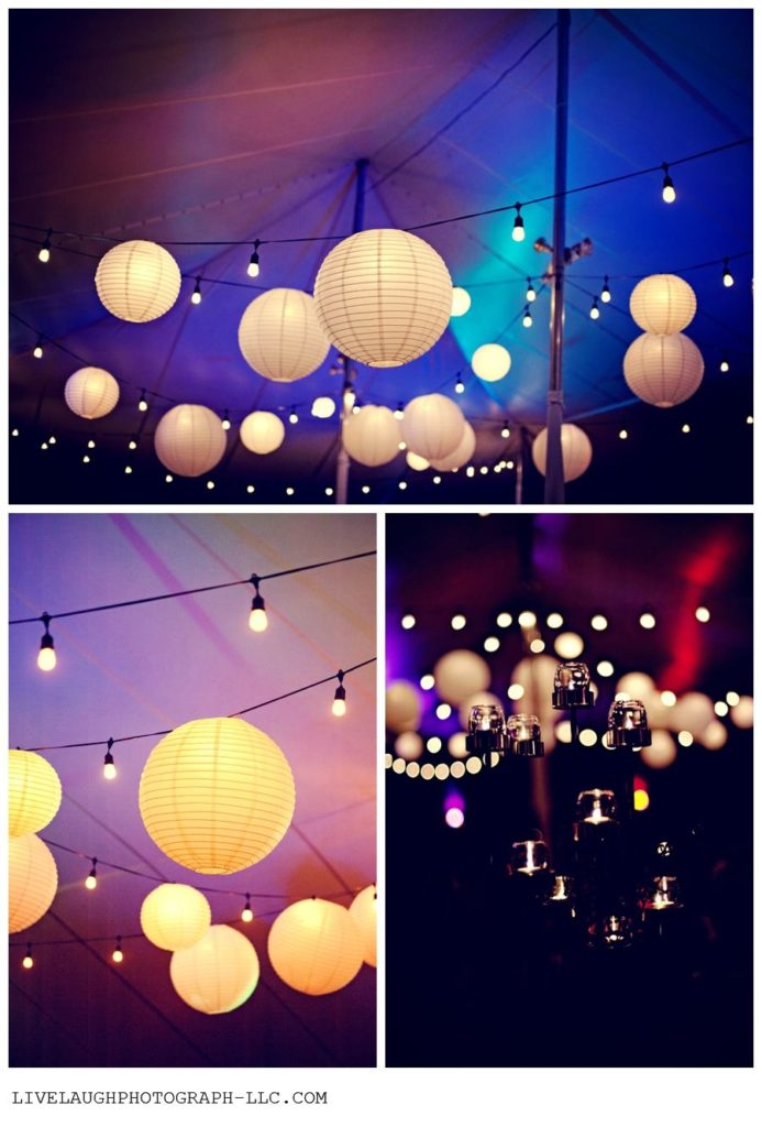 Paper Lanterns Wedding Decor